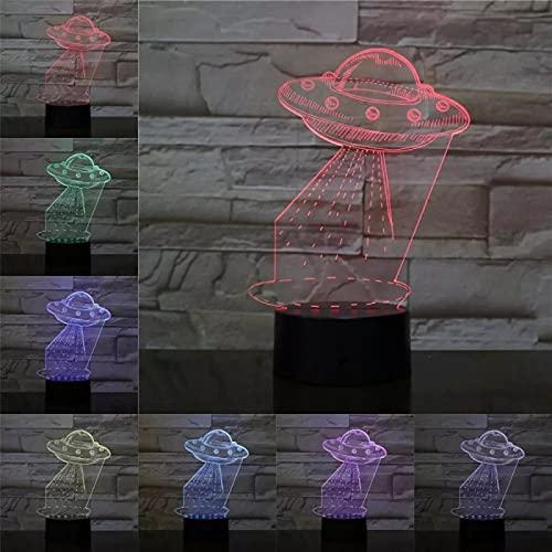 Ovni Regali Unici Della Mamma Amore Romantico 3D Luce Notturna A Led 7 Lampada Da Tavolo Con Cambio Di Colore Home Decor Lampada Da Comodino A Led