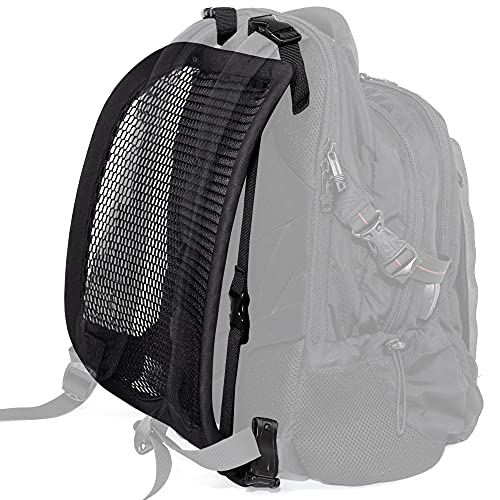 VentaPak- Backpack Comfort Accessory, External Frame for Airflow, Cooling, Reduced Sweat & Back Strain; Ideal for Hiking, Biking, Walking, Commuting, Student Backpacks, Outdoor Activities.