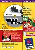 Avery Zweckform L7676-100F 100 Blatt CD-Etiketten SuperSize-Format, ø 117mm; Aktion: Fußballpunkte sammeln