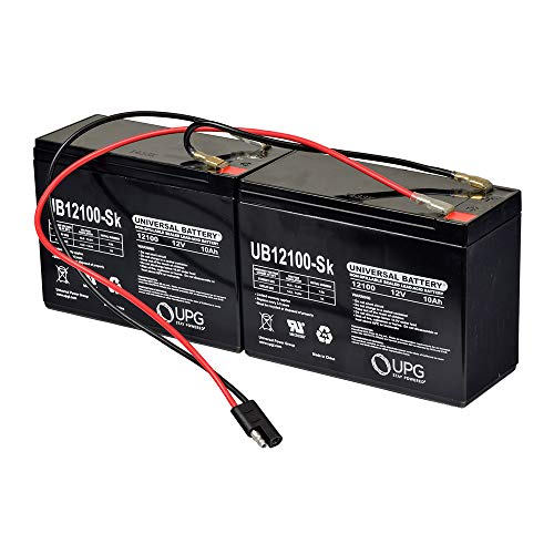 AlveyTech 24 Volt 10 Ah Battery Pack for eZip, GT, IZIP, Mongoose, and Schwinn Scooters (with Harness)