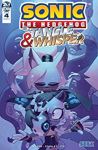 Amazon Com Sonic The Hedgehog Tangle Whisper 4 Sonic Tangle Whisper Ebook Flynn Ian Stanley Evan Kindle Store