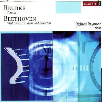 Sonata (Reubke), Waldstein, Tändeln und Scherzen (Beethoven)