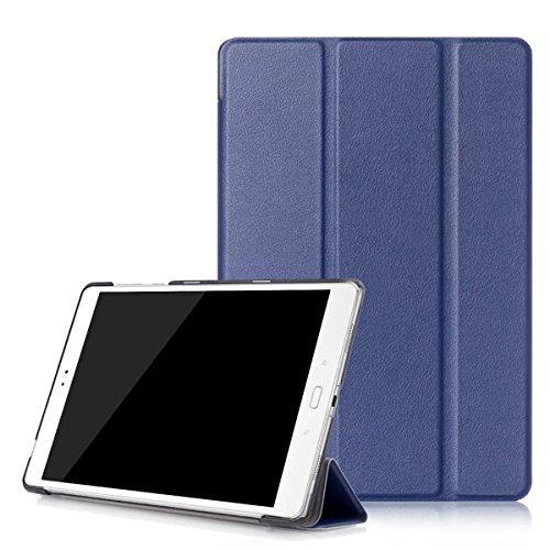 Kepuch Custer Hülle für ASUS Zenpad 3S 10 Z500M,Smart PU-Leder Hüllen Schutzhülle Tasche Case Cover für ASUS Zenpad 3S 10 Z500M - Blau