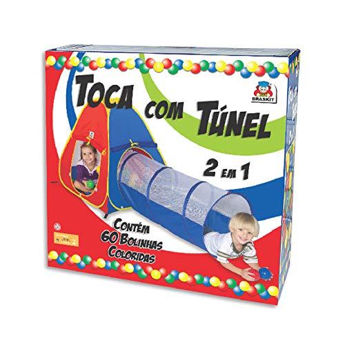 Toca com Túnel 2 em 1 Braskit