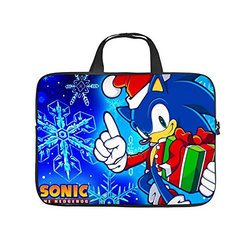 Universal Laptop Computer Tablet,Pouch,Cover for, Apple/MacBook/HP/Acer/Asus/Dell/Lenovo/Samsung, Laptop Sleeve,SSO-nicThe Hedgehog BG,12inch/32x24x1.5cm