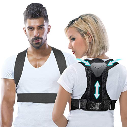 Posture Corrector for Women and Men, Adjustable Back Brace for Back Support...