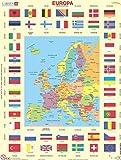 Bigjigs Toys Gioco da Carte Bandiere d'Europa