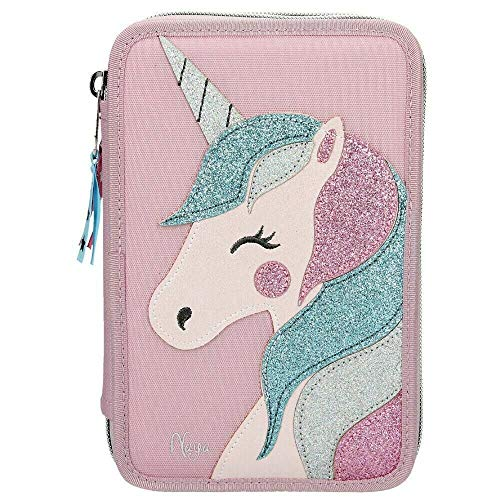 10538 A Estuche Triple Top Model Unicornio