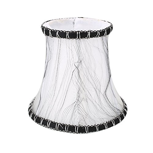 ZENING Gladle - Pantalla para lámpara de pared estilo vintage europeo para candelabro de cristal