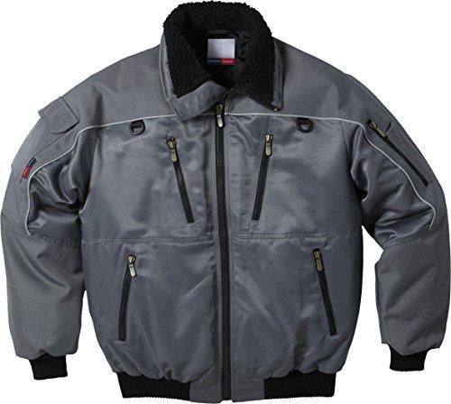 Fristads Winterjacke Pilotenjacke wasserabweisend PP464, Farbe:grau;Größe:S