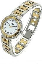 (エルメス)HERMES CL4.220 クリッパー デイト クオーツ 腕時計 レディース 中古