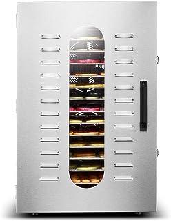Industriell elektrisk dörrautomat, matbehållare, 24-timmars tidbrytare och temperaturreglering (30 ° C-90 °C), 20 tablette...