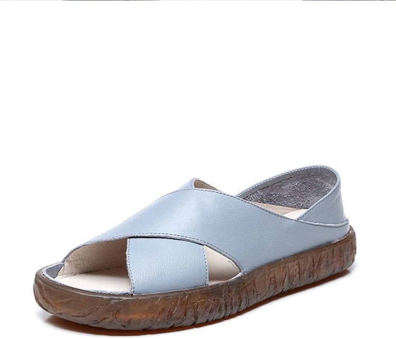 T-JULY Women Flat Sandals Slip on Ladies Platform Soft Open Toe Beach shoes Woman Casual Comfort Female Fashion Summer Shallow shoes