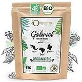 ORIGEENS CAFE GRAIN BIO 1kg | Café en Grain Arabica | Torréfaction Artisanale | Gabriel