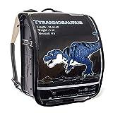 ランドセルカバー 反射材(リフレクター)付き クリアデザインタイプ 恐竜王者ティラノサウルス N4180100