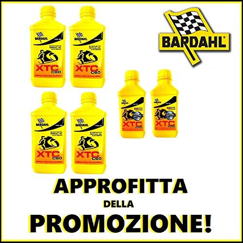 PROMOKIT OLIO MOTORE BARDAHL 4 LITRI XTC C60 15W50 + 1 LITRO OMAGGIO-GRATIS