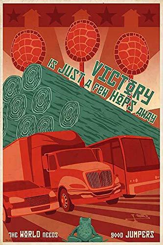 PMSMT Arte Pop manejo de Madera Victoria clásico Vintage Retro Kraft Cartel Decorativo DIY Lienzo Pared Pegatina Bar hogar Carteles decoración