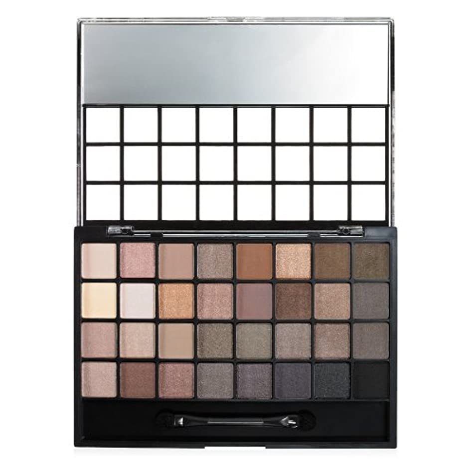 e.l.f. Cosmetics Endless Eyes Pro Mini Eyeshadow Palette, 32 Matte and Shimmer Shades, Natural