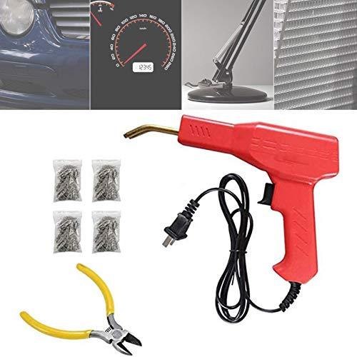 sdfa Car Bumper Repairing Machine, Staple PVC Repairing Machines, 50w Hot Stapler, Professional Car Bumper Crack Repair Welding Machine Set, Mighty Handy Plastics Welders Garage Tools