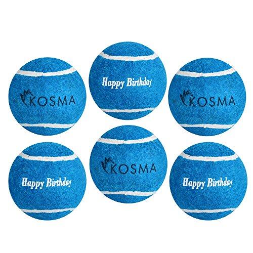 Kosma Unisex-Youth KG-26155 Tennisball, Blau, Einheitsgröße