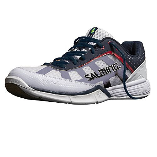 Salming Viper 2.0 Men's Indoor Court Shoe White/Navy (12)