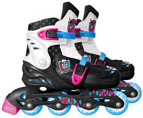 Stamp Monster High Verstellbare Inline-Skates, Größe L