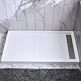 WOODBRIDGE SBR6030-1000R Solid Surface Shower Base with Recessed...