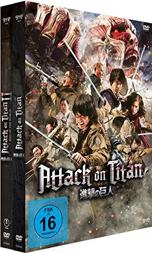 Attack on Titan - Film 1&2 - Bundle, 2 DVD