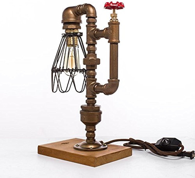SXLONGAmerika. Retro. Industrieller Wind. Persönlichkeit. Kreative. Wasserpfeifen Lampe. Dekoration. Edison Edison Edison Lampe. LED-Lampe. Geschenk Lampe. Schlafzimmer Nachttischlampe. Wohnzimmer. Schreib. B07PX1KRRM     | Offizielle  a27ad8