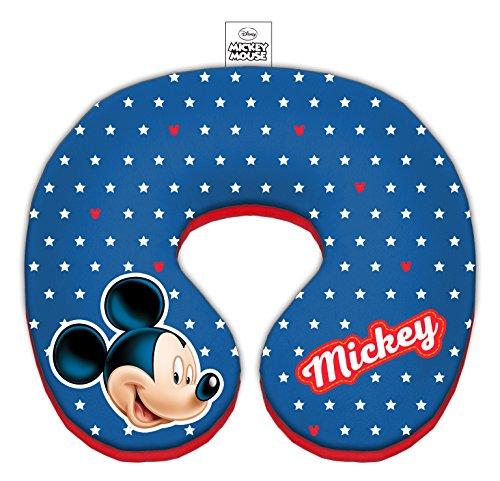 Disney 9602 Cars nekkussentje - zeer knuffelig zachte hoogwaardige nekrol, materiaal: 100% polyester, wasbaar
