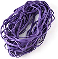 Coopay Large Heavy Duty Latex Rubber Bands Trash Can Bands for Office Supply, File Folders, Cat Litter Box, Size 12...