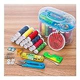 HAIK 12 Colores de Hilo de Coser en casa Kit de Agujas de Coser e Hilo de Coser de Costura Set de Viaje Kits de Herramienta Máquina de Coser