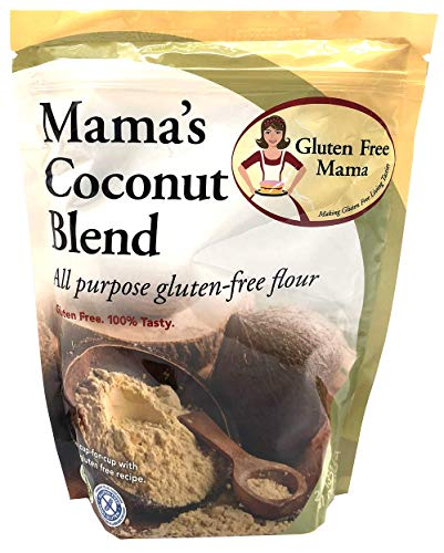 Gluten Free Mama: Gluten Free Coconut Blend Flour - Non-Gritty Texture - Great Flavor for Recipes - Certified Gluten Free Ingredients - All Purpose - Safe for Celiac Diet