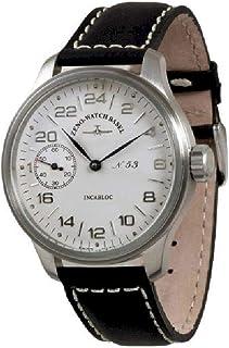 Zeno Watch Basel - Reloj para Hombre Analógico Meccanico con Brazalete de Cuero 8497-24-e2