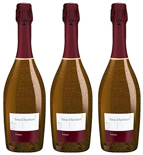 Bio Wein Schaumwein Pinot Noir Deutschland Mosel-Saar-Ruwer 2018 Crémant Sekt Vegan (3 x 0.75l)