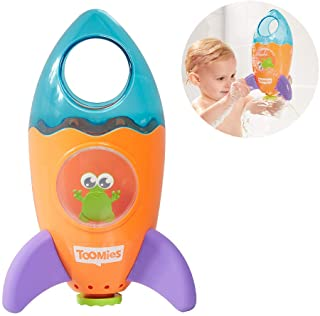 TOMY Toomies Fountain Rocket Bath Toy - Suitable From 1 year E72357 Multicolour