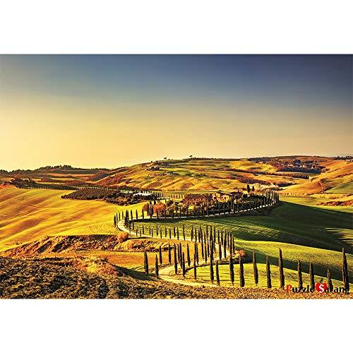 Puzzle Korea Percorso di argilla su Toscana Siena - puzzle Puzzle di 500 pezzi