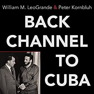 Back Channel to Cuba audiobook cover art