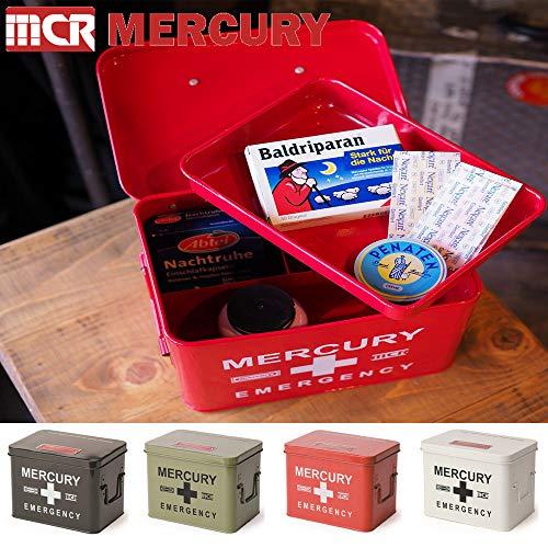MERCURYマーキュリー救急箱エマージェンシーボックス小物入れ収納箱BLACKブラック
