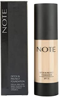 Note Protect Foundation Detox, Beige 02