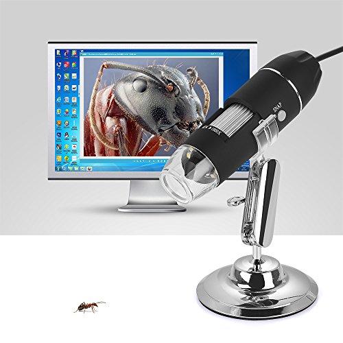 Lenuo Microscopio Digitale USB 1000X Ingrandimento...