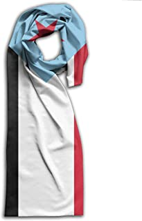 Huitong Shengshi Adult Flag of South Yemen Unisex Scarf Wraps Fashion Shawls Soft Scarves