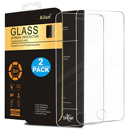 Ailun Screen Protector Compatible iPhone 5S iPhone Se iPhone 5 iPhone...