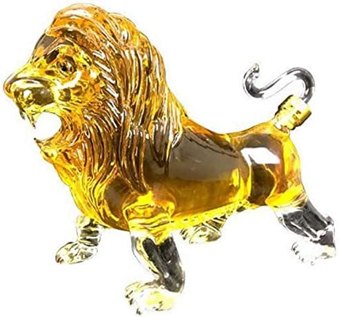 DONGSHUAI 1000Ml Animal Whiskey Decanter Limited time trial price Glass 25% OFF Creative Diamond