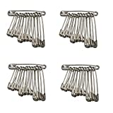Separate way Stainless Steel Safety pin for Women, Girls
