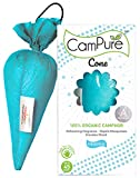 Mangalam CamPure Camphor Cone (Original) - Room, Car and Air Freshener & Mosquito Repellent (Pack Of...