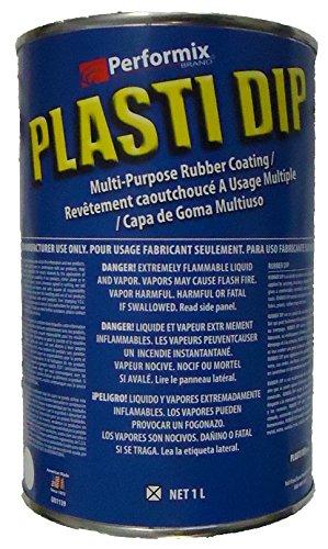 Plasti Dip Gummibeschichtung/(Flüssiggummi) Transparent Klar Clear – 1000 ml – vielfältig einsetzbar