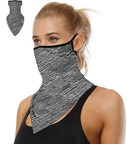 Doriley Face Shield Multifunktionstuch Motorrad Halstücher für Damen Mundschutz Halstuch Bandana Schlauchschal für Damen Herren Unisex 32 Farben
