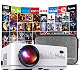 Best Excelvan Projectors For Home Theaters - DBPOWER L21 LCD Video Projector with Carrying Case Review