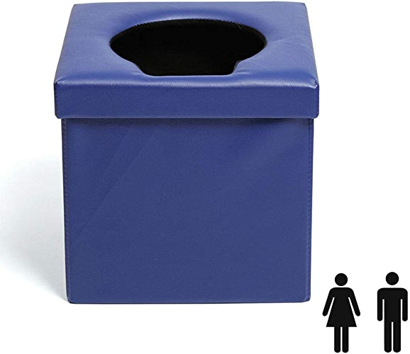 HYM Toilette De Voiture Pliable Portative - AppropriéE à L'Urgence ExtéRieure, Au Camping Et Au Sommeil, Au Voyage en Voiture,B-8